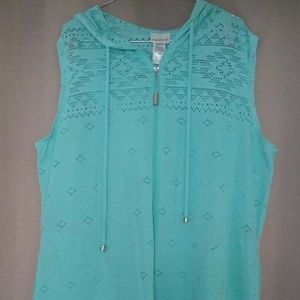 Teal or seafoam colored Swimsuit cover up NWOT
